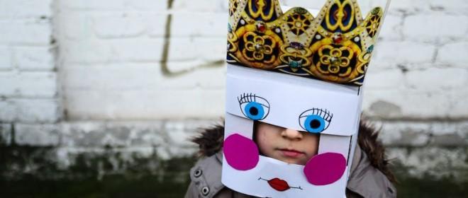 Maski z pudełka
