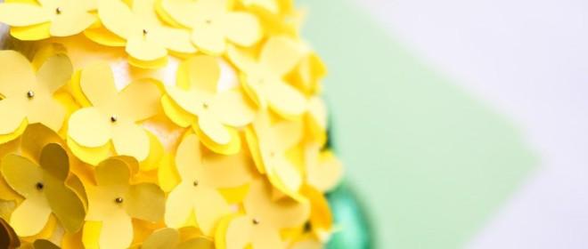 Kula z kwiatów